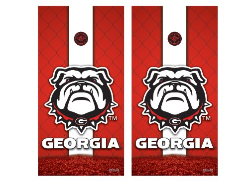 NCAA Georgia Bulldogs Cornhole Shield (Kohls Bulldog compare prices)