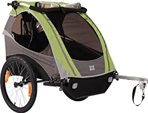 Burley Design D'Lite Bicycle Trailer - Green