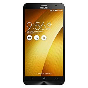 ASUS ZenFone 2 Unlocked Cellphone, 64GB, Gold