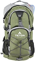 TETON Sports Oasis 1100 Hydration Backpack w/ Bladder (18.5&quot;x 10&quot;x 7&quot;, Green) by Teton Sports
