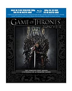 Game of Thrones: The Complete First Season (Bilingual / Discontinued) [Blu-ray] (Sous-titres français)