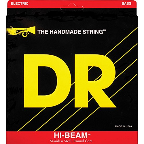 Dr Strings Hi-Beam - Stainless Steel Round Core Medium 6 String 30-130