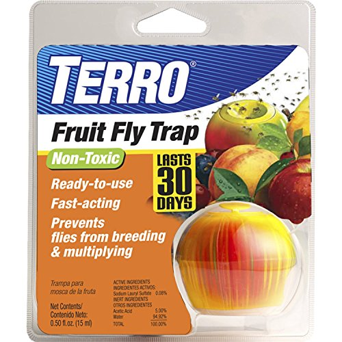 TERRO Fruit Fly Trap 3Pack
