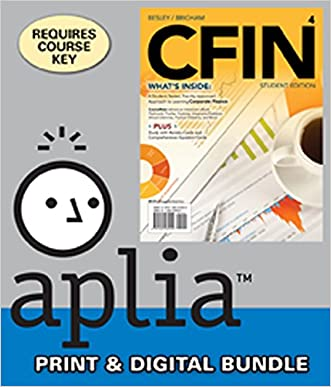 Bundle: CFIN4 (with CourseMate Printed Access Card), 4th + Aplia(TM), 1 term Printed Access Card