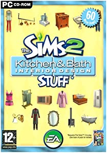 The Sims 2: Kitchen & Bath Interior Design Stuff (PC CD)