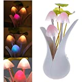 CFHKStore Auto Light Sensor Night Light Color Changing Lamp Luxurious Exquisite