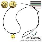 【シュメール】ゴールドコインペンダント/カラーコード ブランド:SHUMAIL [真鍮] ブラス コーティング アクセサリー ペンダント ネックレス メンズ