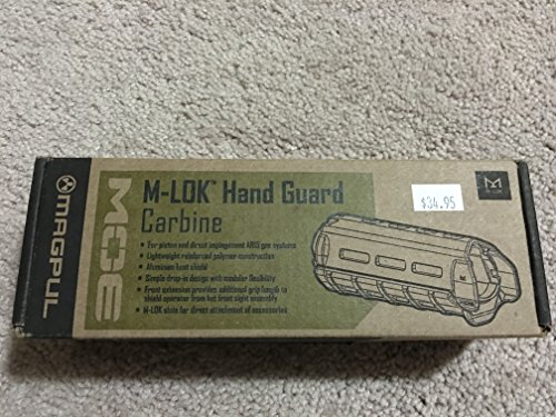 Buy Discount Magpul MOE M-LOK, Carbine Length OD green (MAG424-ODG) with FREE MSP Cleaning Cloth Package