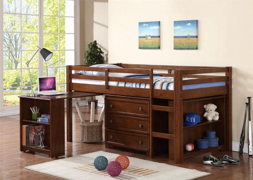 Low Bunk Beds For Kids 2610 front