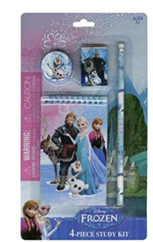 Disney Frozen 4 Piece Study Kit