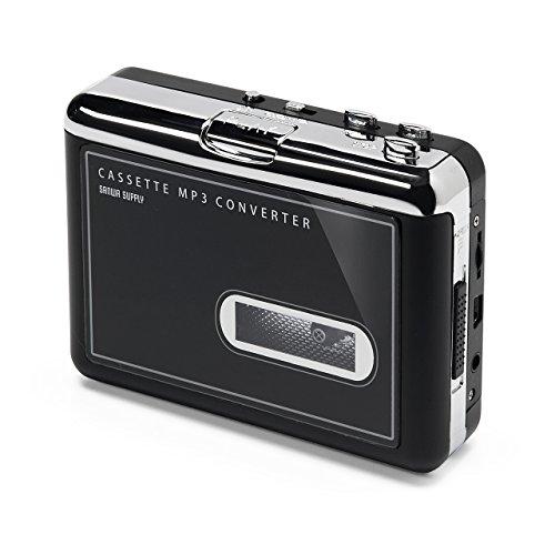 サンワダイレクト カセットテープ MP3変換プレーヤー カセットテープデジタ...