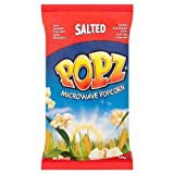Popz Salted Microwave Popcorn 100g (Pack of 15)