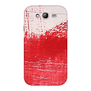 Delighted Red Fresh Texture Back Case Cover for Galaxy Grand Neo Plus