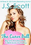 img - for THE CURVE BALL (Big Girls And Bad Boys: A BBW Erotic Romance) (Big Girls And Bad Boys Series Book 1) book / textbook / text book