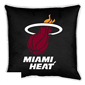 NBA Miami Heat Sidelines Toss Pillow