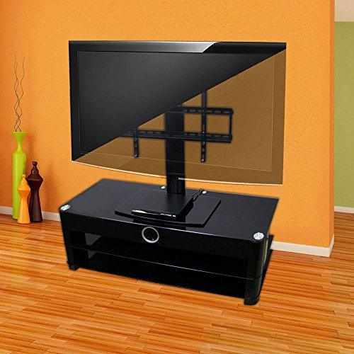 Universal Tabletop Tv Stand With Swivel And Height