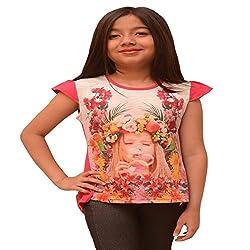 Titrit Pink printed top
