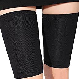 Security Leg Sleeve Socks Support Pads Kneepad Compression Thigh Protector Sleeve