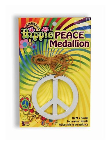 Forum Novelties Peace Sign Necklace