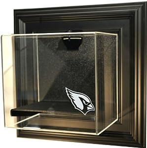 NFL Arizona Cardinals Mini-Helmet Case-Up Display Case, Black by Caseworks