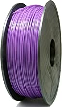 SIENOC 1 paquete de filamento impresora 3D PLA 1.75mm Impresora - Con 1 kg de carrete (Púrpura)