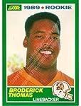 1989 Score #245 Brooderick Thomas