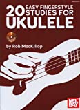 img - for 20 Easy Fingerstyle Studies For Ukulele Book/CD Set book / textbook / text book