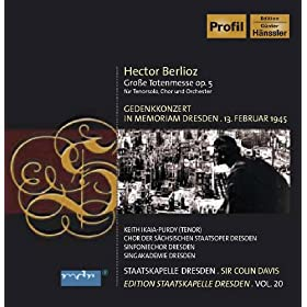 Berlioz, H.: Requiem (Staatskapelle Dresden Edition, Vol. 20)