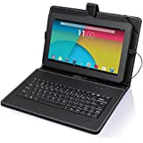 NeoByte Quad Core Android 4.4 KitKat A33 Bluetooth 10.1-Inch Tablet with Keyboard AV10114-gadg