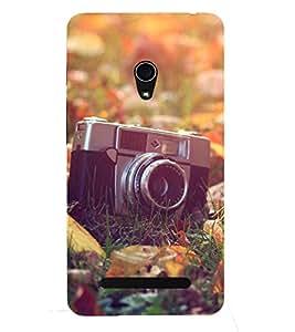 Kingcase Printed Back Case Cover For Asus Zenfone 5 A500CG A501CG - Multicolor