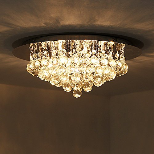 kusunr-modern-6-light-ceiling-lights-crystal-flush-light-with-chrome-backplate-and-6-x-33watt-haloge