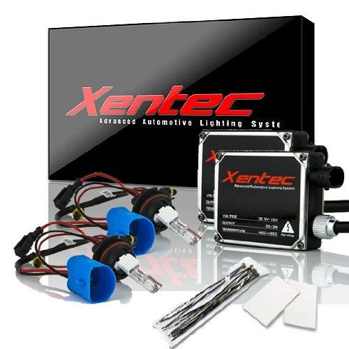 Xentec 9007(Hb5) Hi/Lo 8000K Ac Digital Ballast Hid Xenon Kit W/ Hi-Beam Halogen (Iceberg Blue)