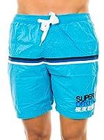 Superdry Short de Baño (Cielo)