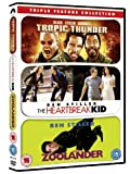 Tropic Thunder / The Heartbreak Kid / Zoolander Triple Pack [DVD]