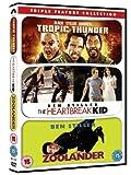 Tropic Thunder / The Heartbreak Kid / Zoolander Triple Pack [DVD]