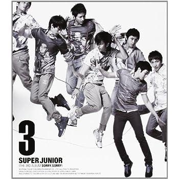 Super Junior 3集 - Sorry, Sorry (バージョン C)(韓国盤)をAmazonでチェック★