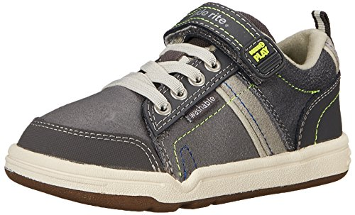 Stride Rite Made 2 Play Kaleb Sneaker (Toddler/Little Kid), Grey, 11 M US Little Kid