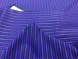 GANGHS Men's Designer Striped Cotton Shirt Fabric
