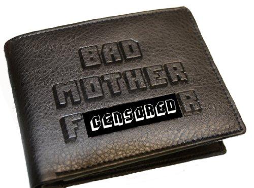 Black Bad Mofo Embossed Wallet w/ Jules Id