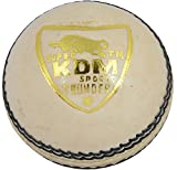 KDM Thunder Leather Ball (White)