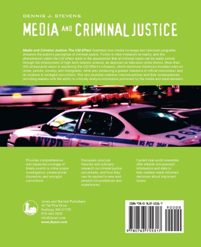 media and criminal justice Media reporting on child sexual the criminal justice system is the set of agencies and processes established by governments to control crime and impose penalties.
