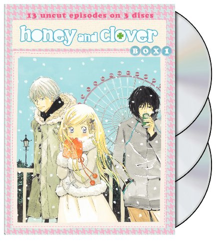 HCII: Honey and Clover: DVD Box, Vol. 1