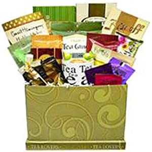 Tea Lovers Care Package Snacks and Treats Gift Box with Mug by Art of Appreciation Gift Baskets