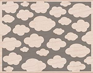 Hero Arts Mounted Rubber Stamps, 4.5 by 5.75-Inch, Clouds