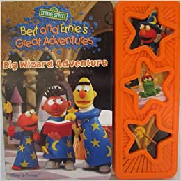 Sesame Street Bert And Ernie Great Adventures Flip to back Flip to f...