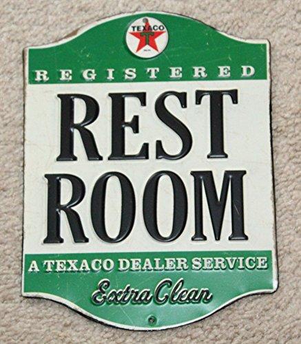 Open Road Brands Texaco Restroom Tin Sign (90146369)