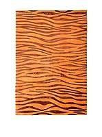 RugSense Alfombra Soft Nepal Naranja/Rojo 240 x 160 cm