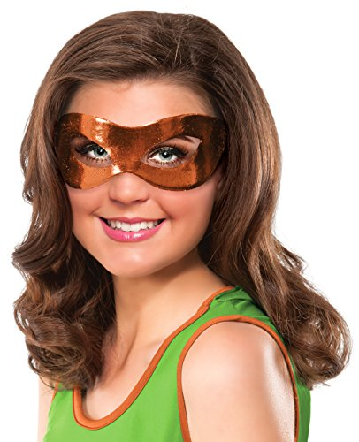 Rubie's Costume Co Women's Teenage Mutant Ninja Turtles Michelangelo Eye Mask