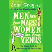 Men Are from Mars, Women Are from Venus: The Classic Guide to Understanding the Opposite Sex | [John Gray]