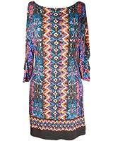 Laundry By Shelli Segal Women's Tribal Print Jersey Dress